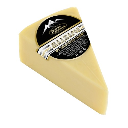 Bulgarian yellow cheese from buffalo's milk