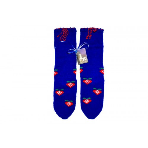 Knitted socks 12 - 100 % - acrylic