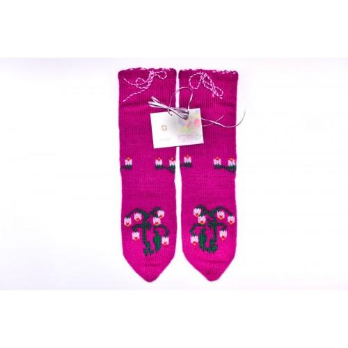 Knitted socks 13 - 100 % - acrylic