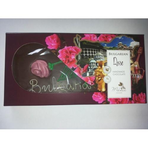 """Handmade chocolate - """"Bulgarian Rose"""" - 0,220 g."""