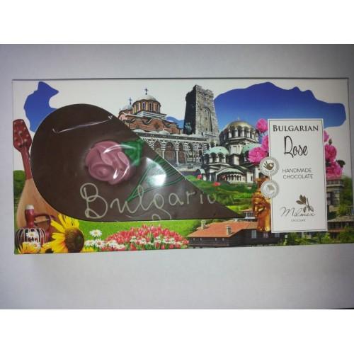"""Handmade chocolate 2 - """"Bulgarian Rose"""" - 0,220 g."""