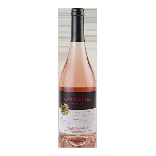 Castra Rubra - Wine book Rose - Cabernet franc 2015 - 0,75 l.