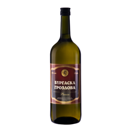 Pomorie - Grape rakia - Burgas - 1.5 l.
