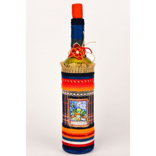 Handmade decorated bottle 4