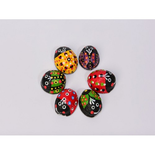 Hand-painted magnets 6pcs.