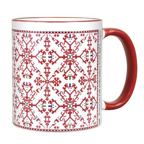 "Mug with ""Svilenitsa"" embroidery from Sofia region"