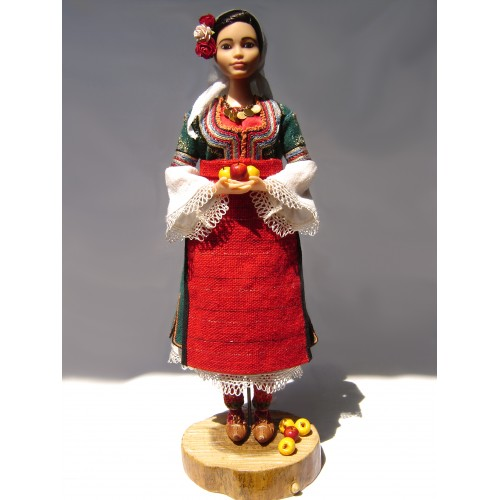 Kyustendil shopski folk region - doll