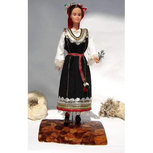 Shopski folk region - doll