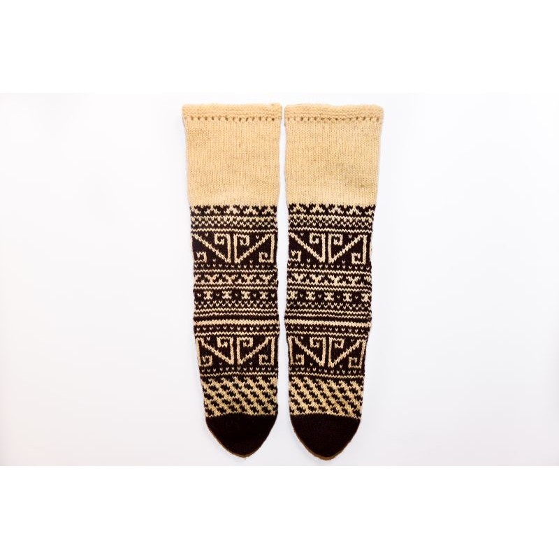 Knitted socks 100% Wool