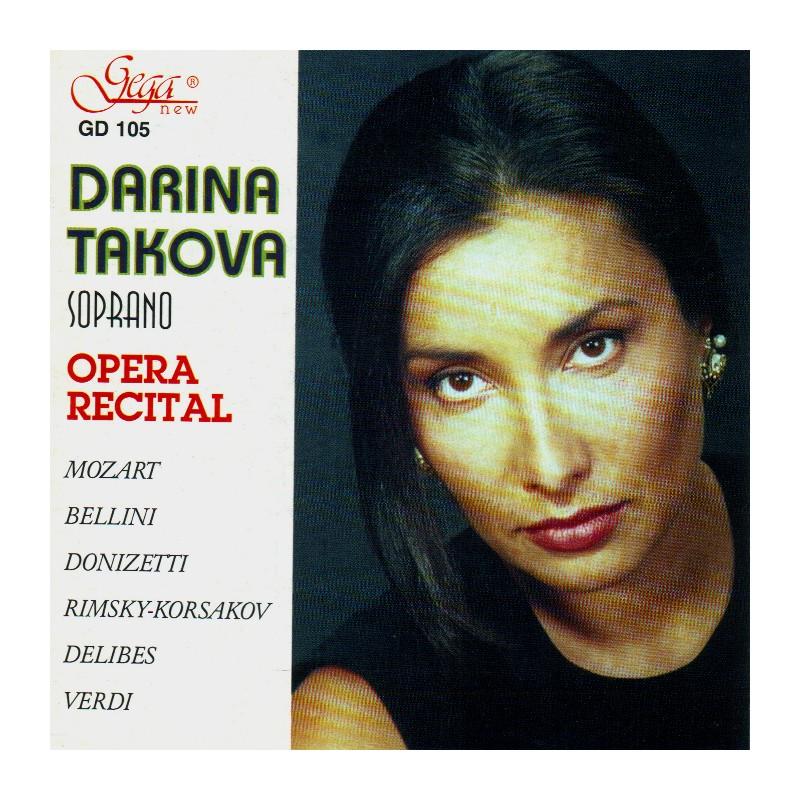 GD105 Opera Recital - Darina Takova - soprano